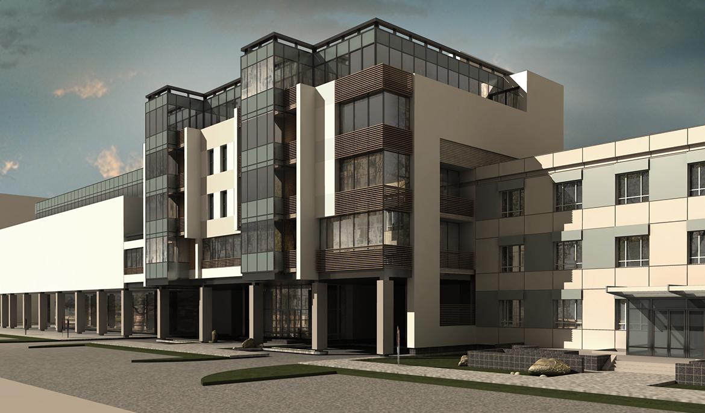 проектирование административных общественных зданий сооружений